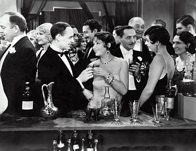 Of Liquor Photograph - High Society Cocktail Party - End Of Prohibition 1933 by Daniel Hagerman
