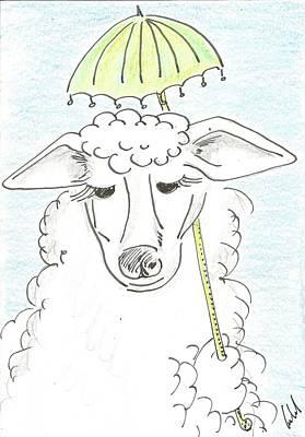 High Society Sheep Original by Gabriel Coelho