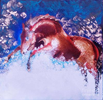 Sandra Silva Painting - High Spirits by Sandra Silva