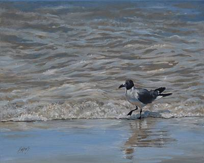 Painting - High Steppin' by Linda Eades Blackburn