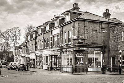 Photograph - High Street. by Gary Gillette