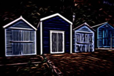 Spook Digital Art - High Street Ghost Town by Martin Wall