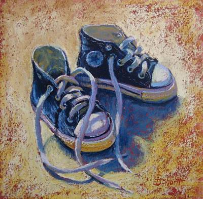 Painting - High Style Baby Boy by Donna Shortt