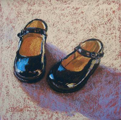 Painting - High Style Baby Girl by Donna Shortt