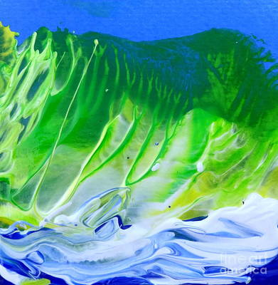 Painting - High Surf by Fred Wilson