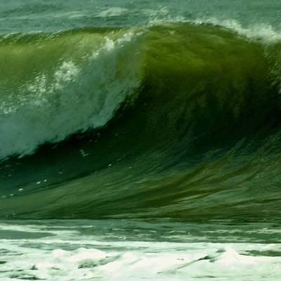 Photograph - High Surf by John Wartman