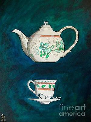 Painting - High Tea by John Lyes