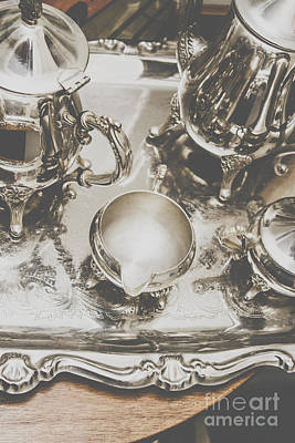 Embossed Photograph - High Tea Party by Jorgo Photography - Wall Art Gallery