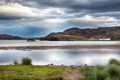 Photograph - High Tide At Clashnessie by Chris Puddephatt