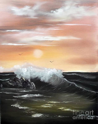 Painting - High Tide by Cynthia Adams