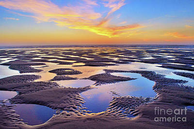 Photograph - High Tide Impressions by Third Eye Perspectives Photographic Fine Art