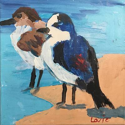 Easterseals Painting - High Tide by Louie M