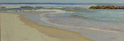 Painting - High Tide - Spring Lake by Lea Novak