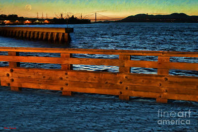 Photograph - High Tide View From Pier 39 by Blake Richards