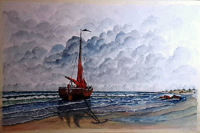 Painting - High Tide2 Sold by Richard Benson