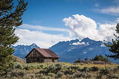 Photograph - High Valley Cabin 2 by Dave Hall