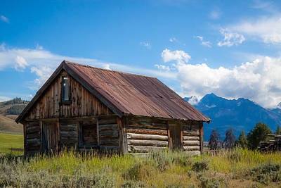 Photograph - High Valley Cabin by Dave Hall