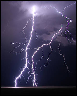 Lightning Photograph - High Voltage! by Pat Gaines