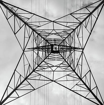 Photograph - High Voltage Power by Nick Mares