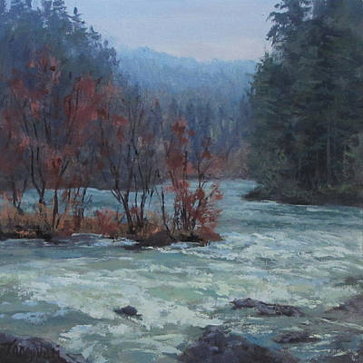 Painting - High Water by Karen Ilari