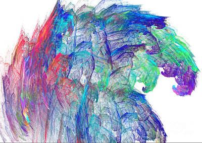 Digital Art - High Wave by Dwayne Jahn