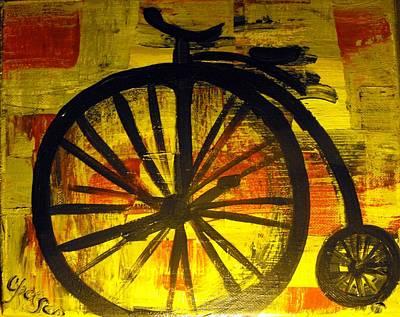 High Wheel Art Print