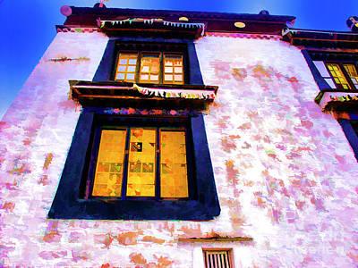 Photograph - High Windows Monastery by Rick Bragan