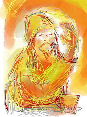 Live Music Drawing - Higher Power by Robert Yaeger