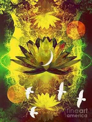 Spiritual Journey Photograph - Higher Self Frequency by Robert Ball