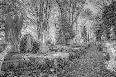Karl Marx Photograph - Highgate Cemetery London by David Pyatt