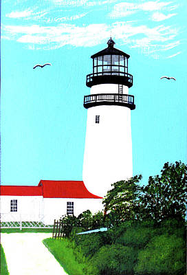 Painting - Highland - Cc - Lighthouse Painting by Frederic Kohli