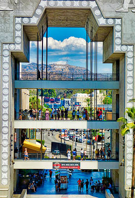 Photograph - Highland And Hollywood C by Robert Meyers-Lussier