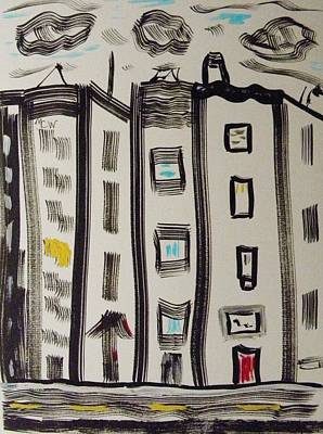 Drawing - Highland Avenue by Mary Carol Williams