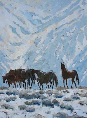 Painting - Highland Band by Eve Werner