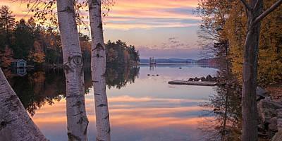 Photograph - Highland Lake Panorama by Darylann Leonard Photography