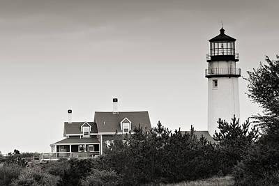 Highland Light At Cape Cod Art Print