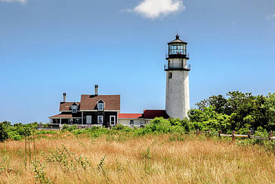 Art Print featuring the photograph Highland Light - Cape Cod by Peter Ciro