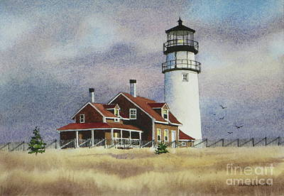 Highland Light View Art Print