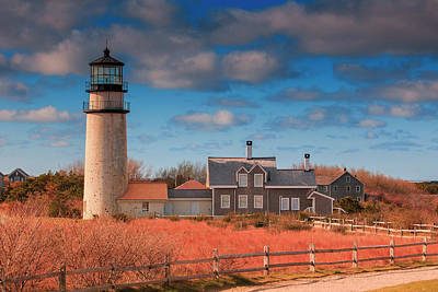 Photograph - Highland Lighthouse Truro Massachusetts by Dapixara Art