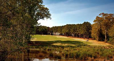 Highland Oaks Golf Course Art Print by Mountain Dreams