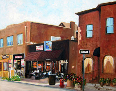 Painting - Highland Park Nj by Leonardo Ruggieri