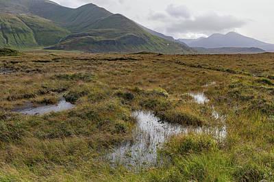 Photograph - Highland Peat Bog by Gary Eason