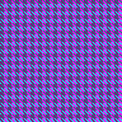 Digital Art - Highland Pink Houndstooth Pattern by Jane McIlroy