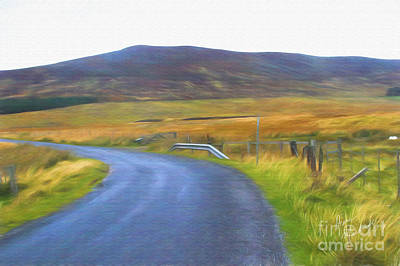 Photograph - Highland Road by Diane Macdonald