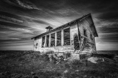 School Houses Photograph - Highland School House by Spencer McDonald