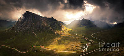 Buachaille Etive Mor Photograph - Highland Summer by Neil Barr