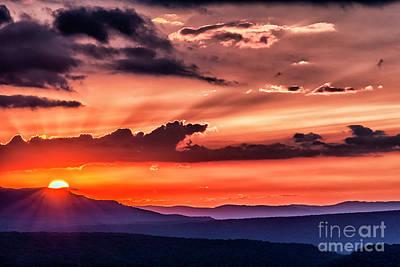 Photograph - Highland Sunrise by Thomas R Fletcher