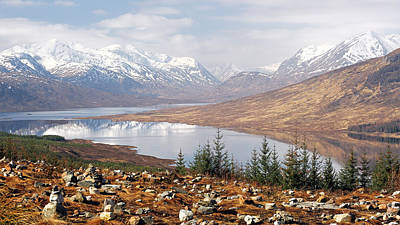 Photograph - Highland View by Grant Glendinning