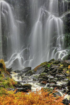 Photograph - Highland Waterfall by Colette Panaioti