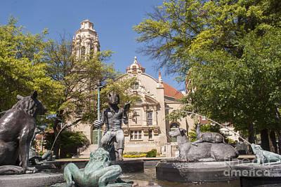 Frog Photograph - Highlands United Methodist Church Birmingham Alabama by Juli Scalzi